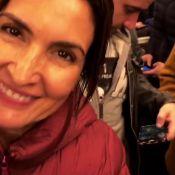 Fátima Bernardes anda em metrô lotado em férias com Túlio Gadêlha em Paris. Veja