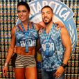 Atualmente, o cantor Belo está casado com a modelo Gracyanne Barbosa