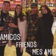 Angela Munhoz garantiu que é amiga de Neymar no INstagram