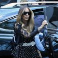 Sarah Jessica Parker dá último adeus à Joan Rivers em funeral realizado em Nova York, em 7 de setembro de 2014