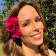 Ana Furtado está na reta final de tratamento contra o câncer
