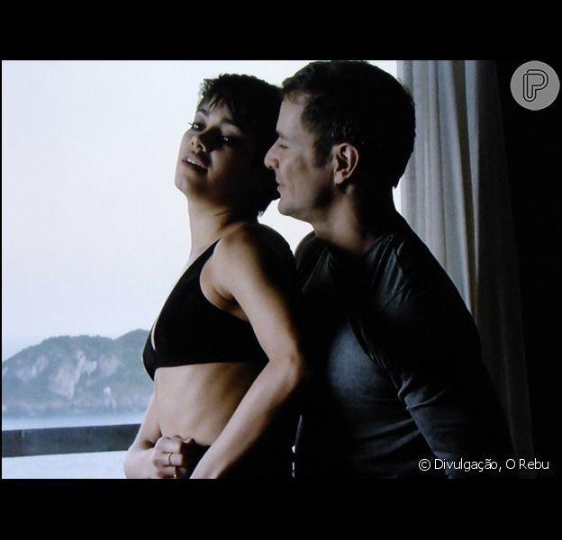 Daniel de Oliveira e Sophie Charlotte protagonizaram cenas de sexo em 'O Rebu'
