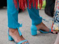 Os sapatos do verão 2019: amarrações, laços e plumas são trend nos calçados