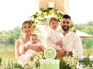 Andressa Suita exibe decoração do batizado do filho caçula em vídeo: 'Sonho'