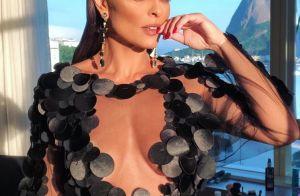 Coroada musa de camarote, Ju Paes adianta sobre fantasia de Carnaval: 'Ave rara'