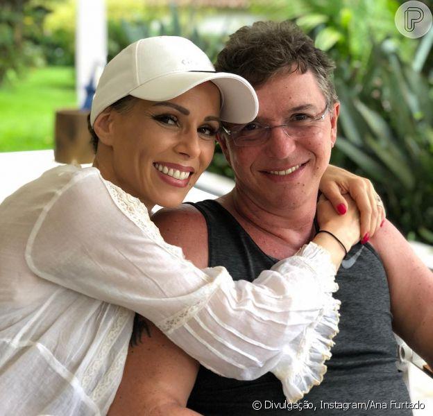 Ana Furtado se declara para o marido, Boninho, no Instagram em 15 de dezembro de 2018