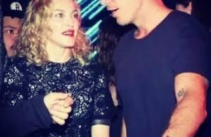 Madonna curte festa com Diplo e Skrillex durante a Semana de Moda de NY