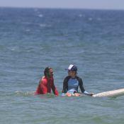 Radicais! Isabella Santoni e namorado fazem travessia de stand up paddle. Fotos!