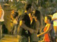 Joaquim Lopes e a cantora Marcella Fogaça trocam carinhos após jantar. Fotos!
