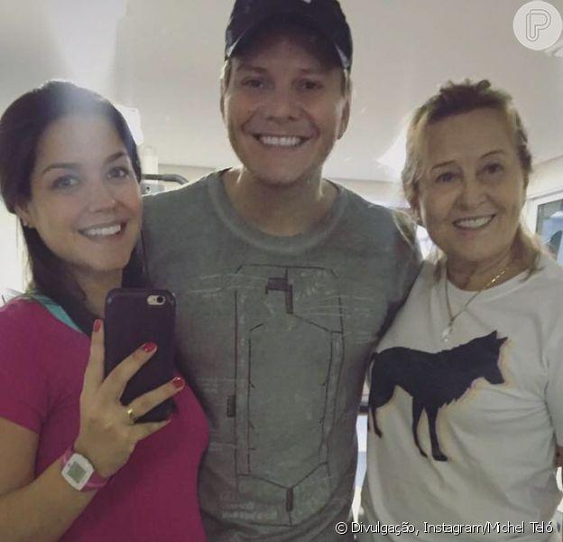 Thais Fersoza conta ter boa relação com a mãe de Michel Teló em vídeo nesta sexta-feira, dia 21 de dezembro de 2018