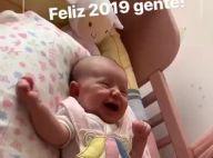 Fofura! Sabrina Sato filma a filha, Zoe, no berço: 'Feliz 2019, gente!'. Vídeo!