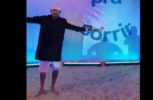 Neymar se fantasiou para curtir festa com os amigos na Bahia: 'Rolê mascarado'