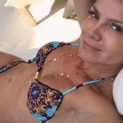 Aos 45 anos, Eliana impressiona seguidores com foto de biquíni: 'Corpinho de 15'