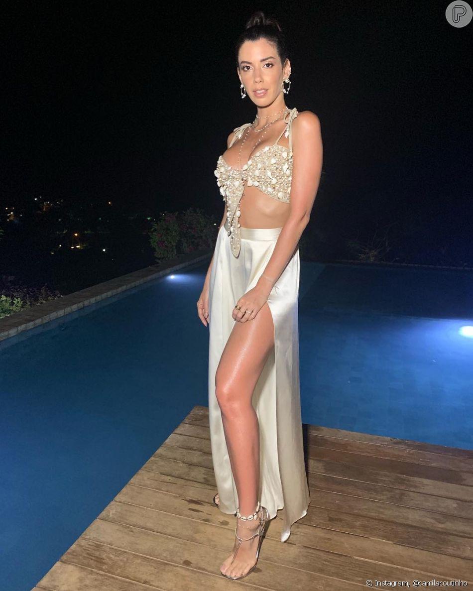 Camila Coutinho no Réveillon