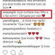 Mãe de Rodrigo Simas agradeceu homenagem de Agatha Moreira para o filho e agitou a web: 'Conquistou a sogra'