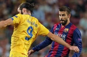 Gerard Piqué marca gol para o Barcelona e garante vitória com Neymar em campo