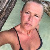 Xuxa Meneghel é elogiada por selfie sem make em viagem a Jamaica: 'Mais gata'