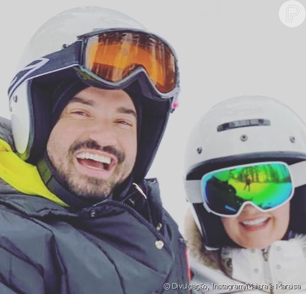 Maiara, irmã de Maraisa, viaja com Fernando Zor e ganha torcida de fãs por casal