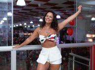 Carnaval 2019: Viviane Araújo samba e exibe corpão em câmera lenta. Veja!