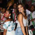 Juliana Paes mostrou muito samba no pé no esquenta da Grande Rio para o carnaval 2019, nesta terça-feira, 15 de janeiro de 2019