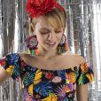 Na Renner, a blusa cropped floral com babados custa R$ 49,90