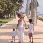 Eliana é fotografada com filhos, Manuela e Arthur, por noivo, Adriano:'Meu nego'