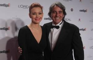 Julia Lemmertz e Alexandre Borges vão ao 'Encontro' após negarem separação