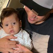 Thyane Dantas filma filho, Dom, de 4 meses, imitando som de carro: 'Coisa linda'