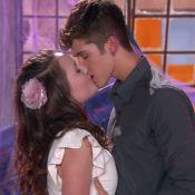 'As Aventuras de Poliana': Mirela e Luca Tuber têm o primeiro beijo!