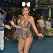 Pedrita no samba! Lívia Andrade elege look animal print em ensaio de Carnaval