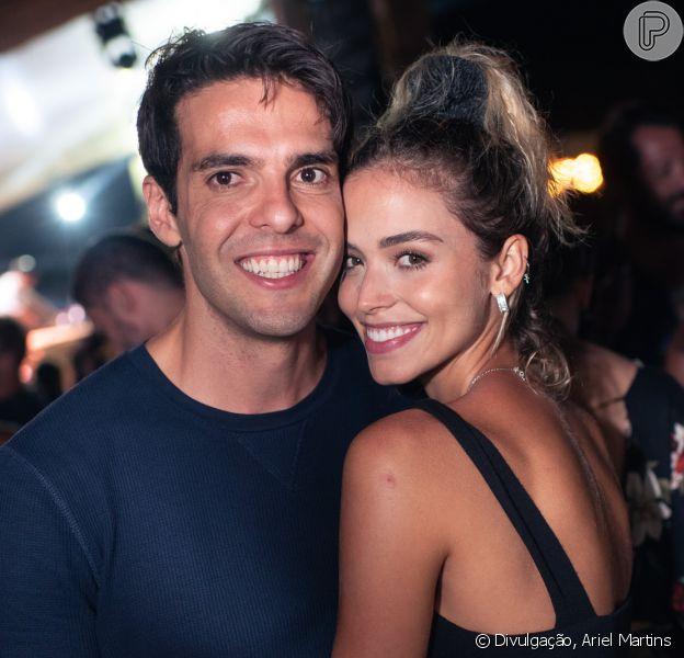 Noiva relembra início de relação com filhos de Kaká: 'Medo de não ser aceita'