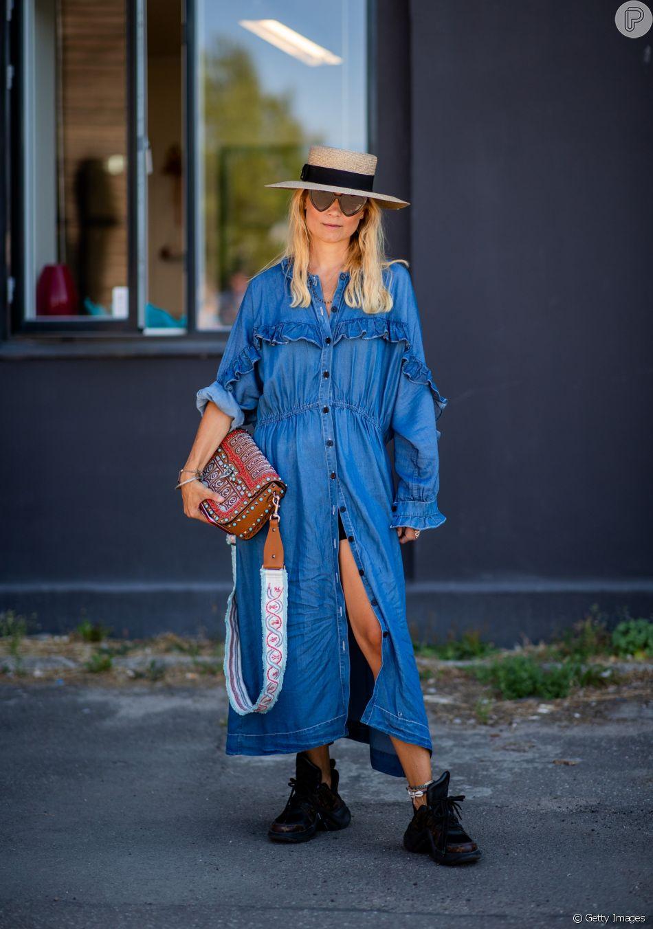 Sneakers: para uma pegada boho, use com vestidos leves, chapéu e elementos étnicos