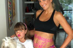 Rafa Justus escolhe nome da irmã e Ticiane Pinheiro aprova: 'Bem-vinda Manuella'