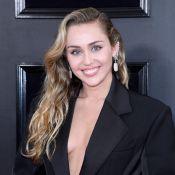 Grammy 2019: Miley Cyrus aposta em look decotado para o tapete vermelho