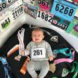 Kathrine Switze, primeira mulher a correr a maratona em Boston, foi homenageada no projeto fotográfico
