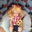 Dolly Parton, ícone do country norte-americano, foi homenageada em clique fofo de Liberty