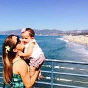Nivea Stelmann curte férias na Califórnia ao lado do marido e da filha, Bruna