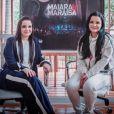 Maiara, irmã de Maraisa, brincou ao vê-la praticando wakeskate: 'Bora trabalhar'