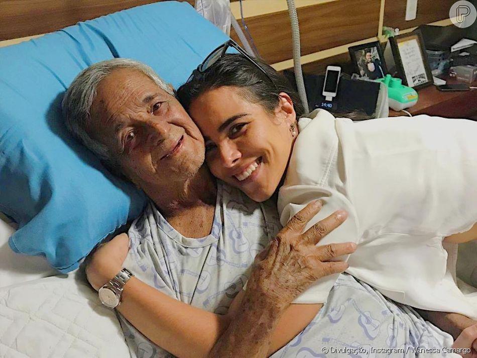 Wanessa Camargo postou uma foto com o avô Franciso nesta quinta-feira, 21 de fevereiro de 2019