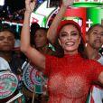 'Alô, Grande Rio, quem tá com frio na barriga já?', questionou Juliana Paes sobre o Carnaval