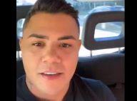 Maquiado? Felipe Araújo nega uso de base em vídeo: 'É a minha pele mesmo'