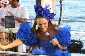 Filho de Ivete Sangalo, Marcelo curte Carnaval e acompanha mãe em trio. Fotos!