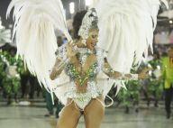 150 mil cristais e penas albinas: o look de Quitéria Chagas no Império Serrano