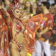 Viviane Araujo completa 12 anos de carnaval e celebra mais uma ano à frente da Acadêmicos do Salgueiro, e para 2019, escolheu vi fantasiada de ' Borboleta de Oyá'.
