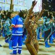 Raíssa Oliveira, rainha de bateria da Beija-Flor,quinta escola a desfilar no grupo especial na noite de domingo, 03 de março de 2019, completa 17 anos de Avenida neste Carnaval