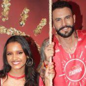Gleici Damasceno afasta ciúme do namorado por fantasia de Carnaval: 'Só elogia'