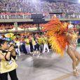Musa da Paraíso do Tuiuti, Lívia Andrade mostrou todo seu samba no pé