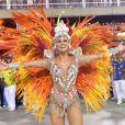 Musa da Paraíso do Tuiuti, Lívia Andrade avalia posto de rainha em entrevista antes do desfile nesta terça-feira, dia 05 de março de 2019