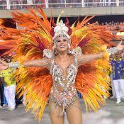 Musa do Tuiuti, Lívia Andrade avalia posto de rainha: 'Não tenho essa pretensão'