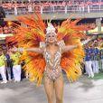 Lívia Andrade opinou sobre o posto de rainha de bateria: 'acho que a gente tem que ter disposição e comprometimento com a escola'
